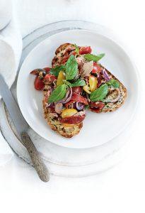 Tuscan tuna toasts