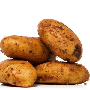 In season early summer: New potatoes