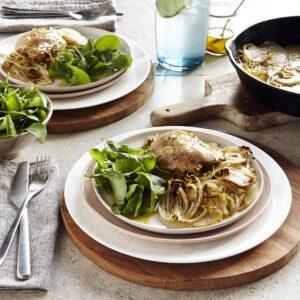 Chicken and fennel bake