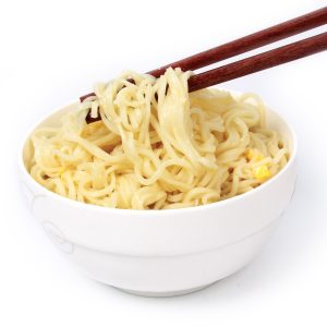 How much sodium is in those quick-cook noodles?
