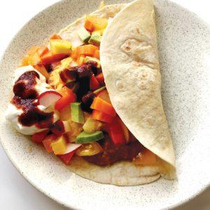 Mexican egg tortilla