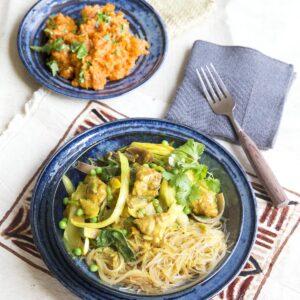 Samoan fish chop suey