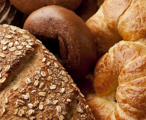 This vs that: Croissant, bagel and multigrain bread