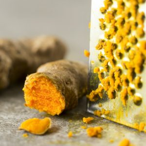 Try this: Fresh turmeric