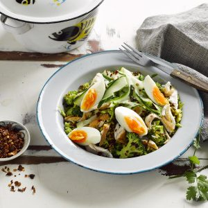 Vege and quinoa kedgeree