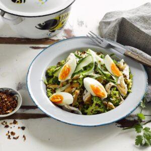 Vege and quinoa kedgeree