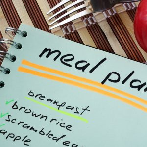 Weekly meal planner and shopping list