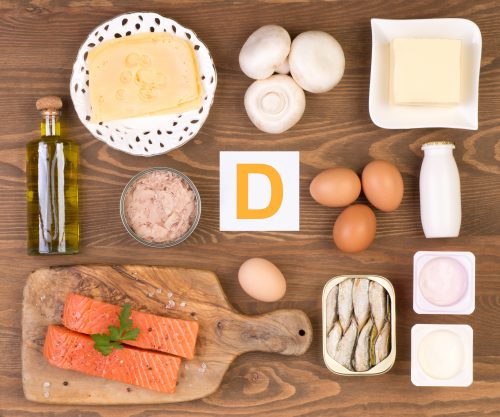 Getting enough vitamin D and exercise