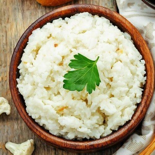 Cauliflower rice (sponsored)