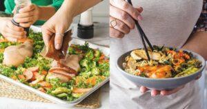 Roasted orange chicken ramen bowls (sponsored)