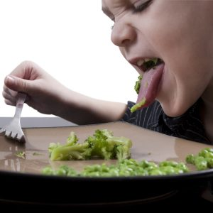 Why do some children fear food?