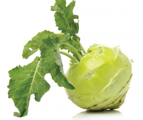 In season late winter: Kohlrabi, limes, Italian parsley