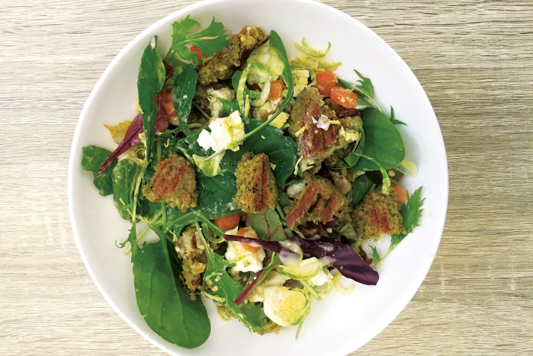 Meals for one recipe collections healthy food guide falafel salad forumfinder Choice Image