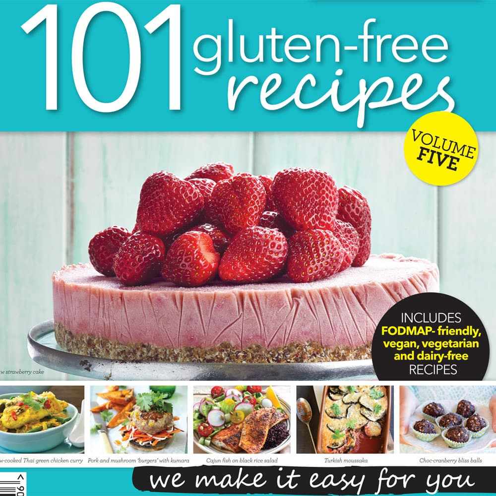 Recipe books product tags healthy food guide 101 gluten free recipes vol 5 forumfinder Choice Image