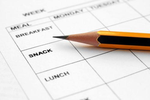Kick-start Plan 2017: Meal plans