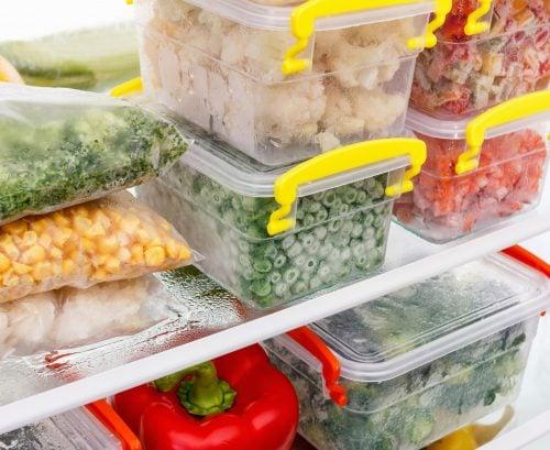 Freezer meal planner