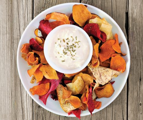 How to choose vege chips