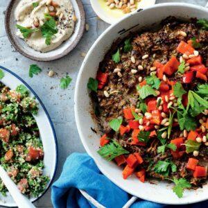 Middle Eastern meatloaf