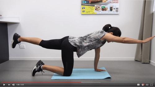 Quick home exercises