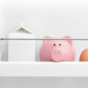 How to eat well while saving for a house