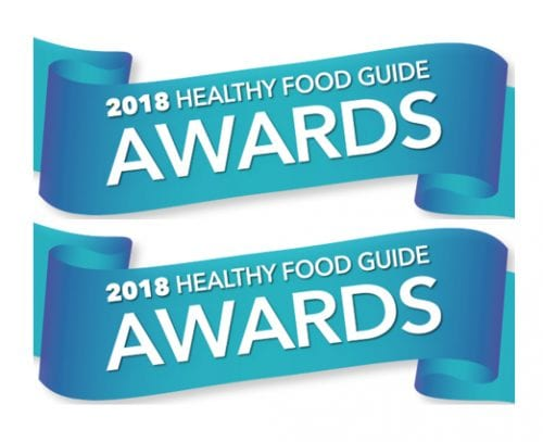 2018 Healthy Food Guide Awards