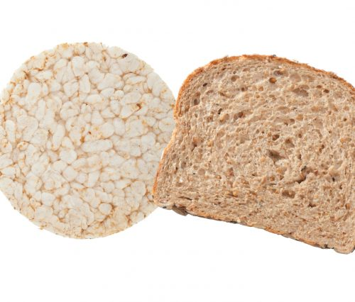 Everyday choices: Rice cakes or toast?