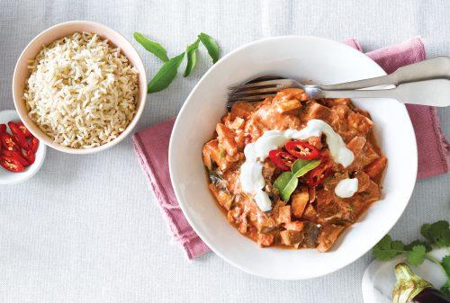 Summer vege curry
