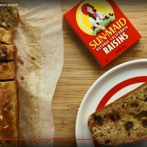 How to make: Sun-Maid Banana, chocolate and raisin bread (sponsored)
