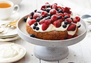 Light-as-air sponge cake