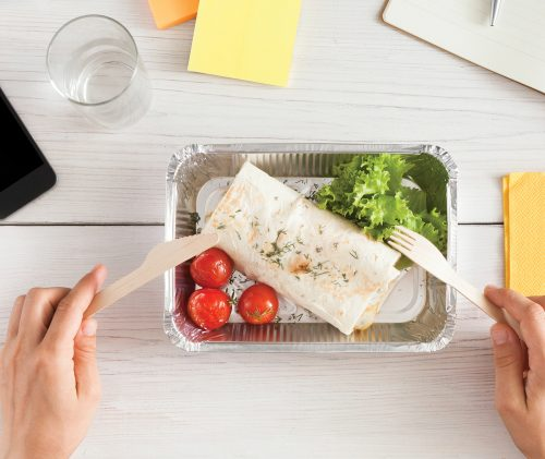 Work lunches: How to eat out healthily