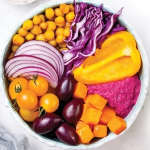 Five reasons to eat in colour