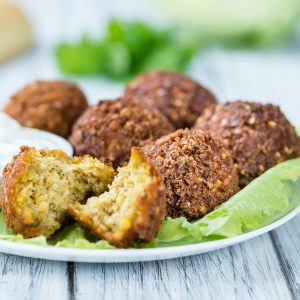 Bought vs homemade: Falafel