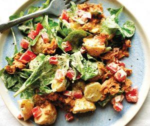 Tuna potato salad