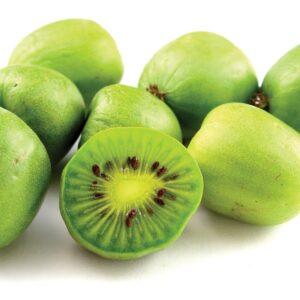 In season mid-autumn: Kiwiberry, butternut squash, Jerusalem artichoke