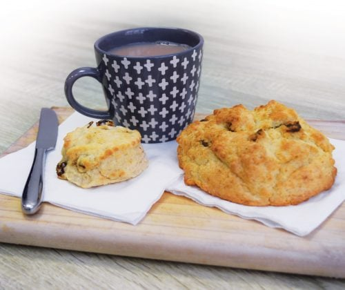 Portion distortion: Date scones
