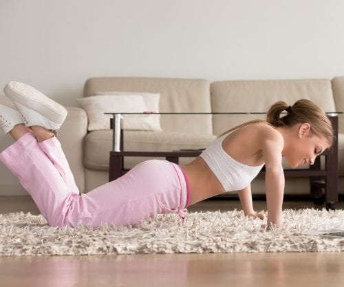 10-minute at-home workouts