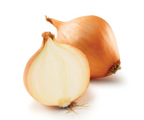 In season late autumn: Brown onions, pears, Chinese (napa) cabbage