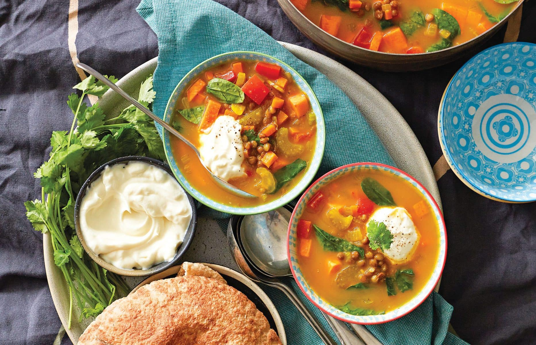 Moroccan lentil soup healthy food guide moroccan lentil soup forumfinder Gallery