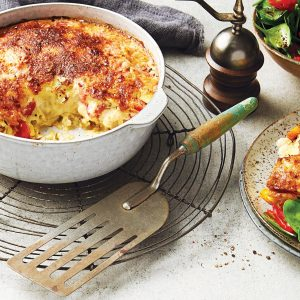 Potato and cheese clafoutis