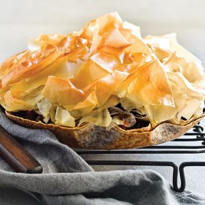 Makeover mince 'n' cheese pie