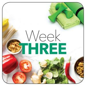 Kick-start plan: Week 3