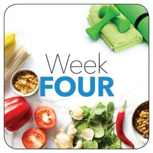 Kick-start plan: Week 4