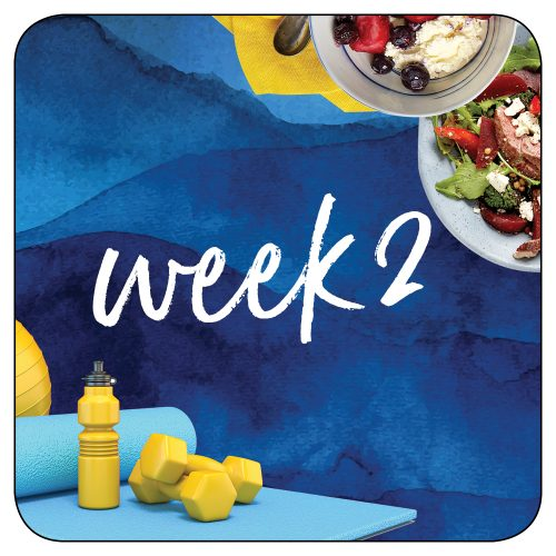 Kick-start plan: Week 2