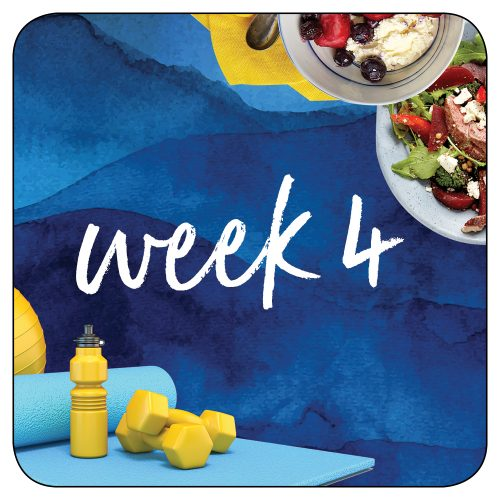 Kick-start plan: Week 4