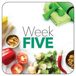Kick-start plan: Week 5
