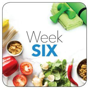 Kick-start plan: Week 6