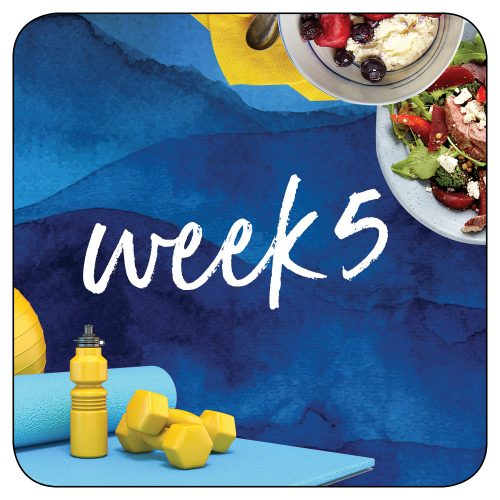 Kick-start plan: Week 5