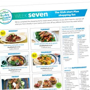 Weight-loss meal plan: Week seven