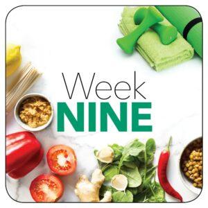 Kick-start plan: Week 9