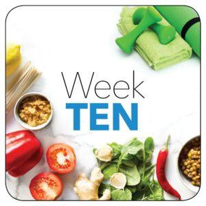 Kick-start plan: Week 10